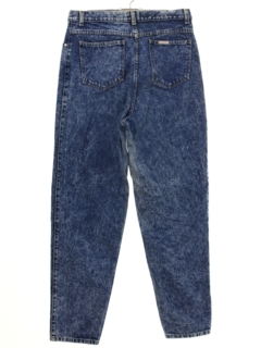 1990's Womens Sasson Highwaisted Acid Washed Denim Jeans Pants