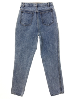 1980's Womens Rio Jeans Highwaisted Acid Washed Denim Jeans Pants