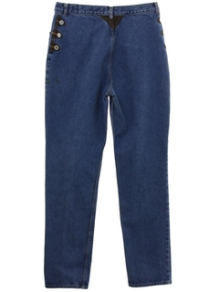 1980's Womens Lawman Highwaisted Denim Jeans Pants