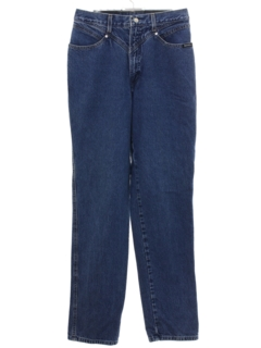 1990's Womens Rockies Western Highwaisted Denim Jeans Pants