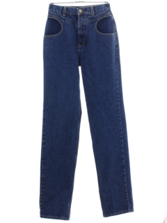 1980's Mens Lawman Highwaisted Western Denim Jeans Pants