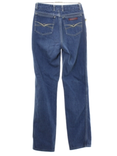 1980's Womens Totally 80s Sasson Designer Highwaisted Denim Jeans Pants