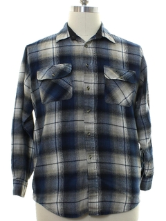 1980's Mens Grunge Flannel Shirt