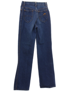 1980's Womens Totally 80s Chic Highwaisted Denim Jeans Pants
