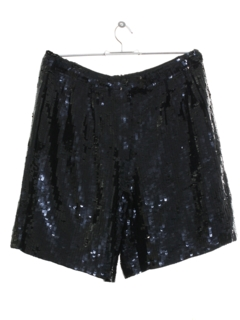 1990's Womens Wicked 90s Sequined Cocktail Shorts