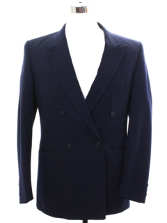 1990's Mens Gangster Style Blazer Sport Coat Jacket