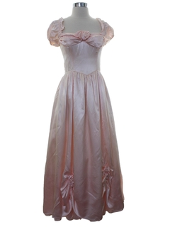 1980's Womens Gunne Sax Cocktail or Prom Maxi Dress