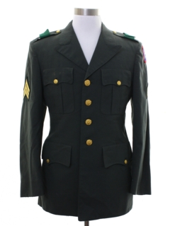 1990's Mens Military Jacket