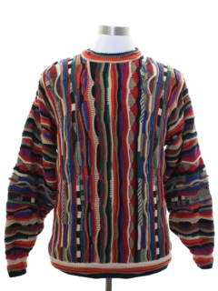 1980's Mens Coogi Style Cosby Sweater