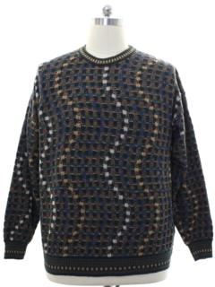1980's Mens Cosby Sweater