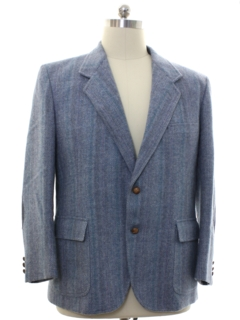 1980's Mens Pendleton Wool Blazer Sport Coat Jacket
