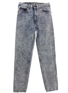 1980's Mens Totally 80s Acid Washed Levis Denim Jeans Pants