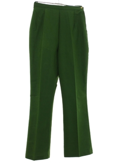 1960's Womens Mod Flared Pants