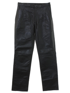 1980's Mens Totally 80s Leather Pants