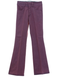 1970's Mens/Boys Mod Bellbottom Pants