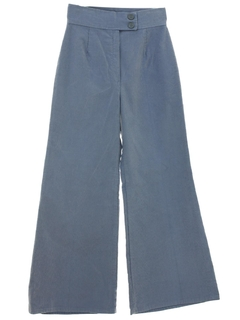 1970's Womens Mod Corduroy Bellbottom Pants