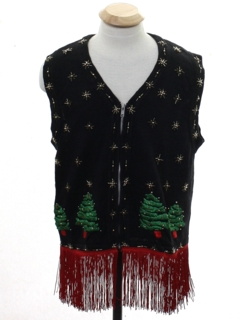 Men's Very Ugly Christmas Vests at : Lightup