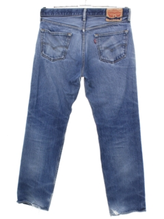 1990's Mens Grunge Tapered Leg Jeans-cut Pants
