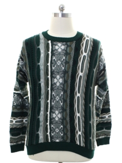1980's Mens Coogi Style Sweater