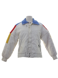 1980's Womens Killy Brand Totally 80s Ski Jacket