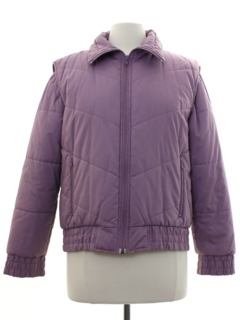 1980's Womens Totally 80s Convertable Ski Jacket
