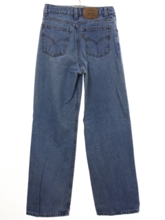 1980's Womens Levis Wide Leg Denim Jeans Pants