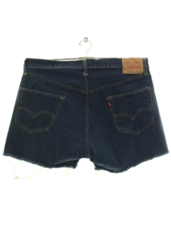 1960's Mens Levis Big E 501s Denim Jeans Shorts
