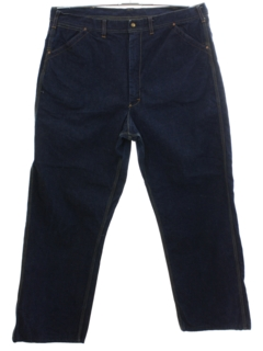 1960's Mens Lee Union Made Denim Utility Jeans Pants