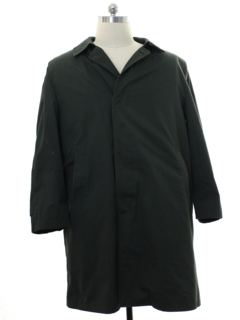 1980's Mens Overcoat Trench Jacket