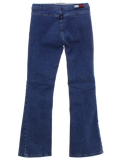 1990's Womens Flared Denim Jeans Pants