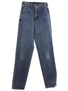 1980's Womens Denim Jeans Pants