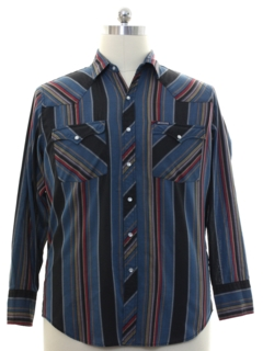 1990's Mens Dickies Brand Western Shirt