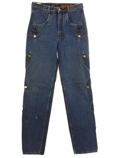 1980's Womens Highwaisted Denim Jeans Pants