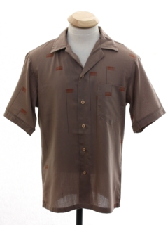 1960's Mens or Boys Mod Sport Shirt