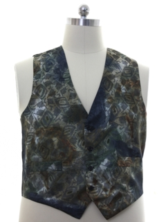 1980's Mens Totally 80s Fancy Vest