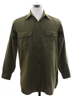 1950's Mens US Army Uniform Shirt