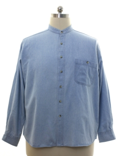 1980's Mens Totally 80s Solid Shirt