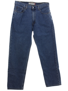 1990's Mens Levis 550 Straight Leg Denim Jeans Pants