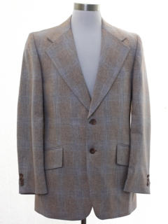 1950's Mens Rockabilly Blazer Sportcoat Jacket