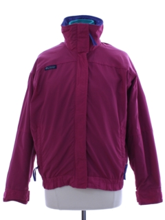 1980's Womens Totally 80s Two-Piece Ski Jacket