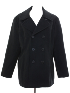 1990's Womens Wool Pea Coat Jacket