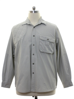 1980's Mens Hunting Shirt
