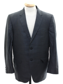 1950's Mens Mod Sharkskin Blazer Sport Coat Jacket