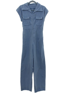 1970's Womens Grunge Hippie Jumpsuit