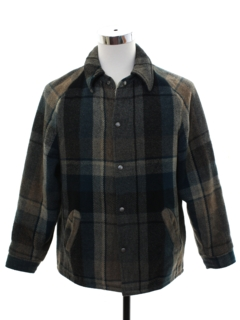 1960's Mens Snap Front Field Jacket