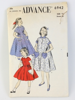 1940's Womens/Girls Sewing Pattern