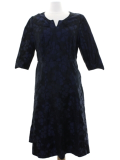 1940's Womens Fab Forties A-Line Dress