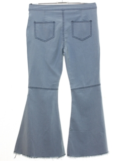 1990's Womens Costume Bellbottom Denim Jeans Pants