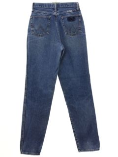 1980's Womens Wrangler Grunge Denim Jeans Pants