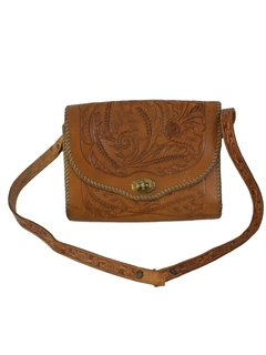 1950's Womens Accessories - Leather Purse